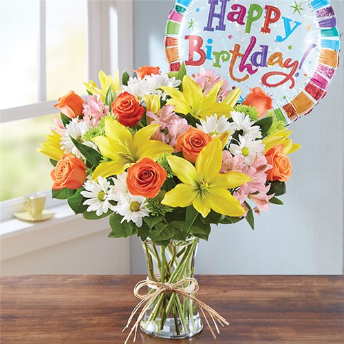 Substitution may be necessary if container or product is not 1 800 flowers fields of europe happy birthday mightylinksfo